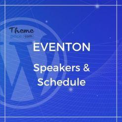 EventOn Speakers & Schedule Add-on