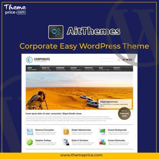 Corporate Easy WordPress Theme