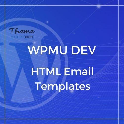WPMU DEV HTML Email Templates