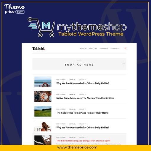 MyThemeShop Tabloid WordPress Theme