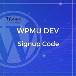 WPMU DEV Signup Code
