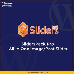 SlidersPack Pro – All In One Image/Post Slider