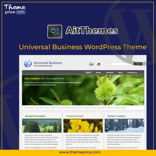 Universal Business WordPress Theme
