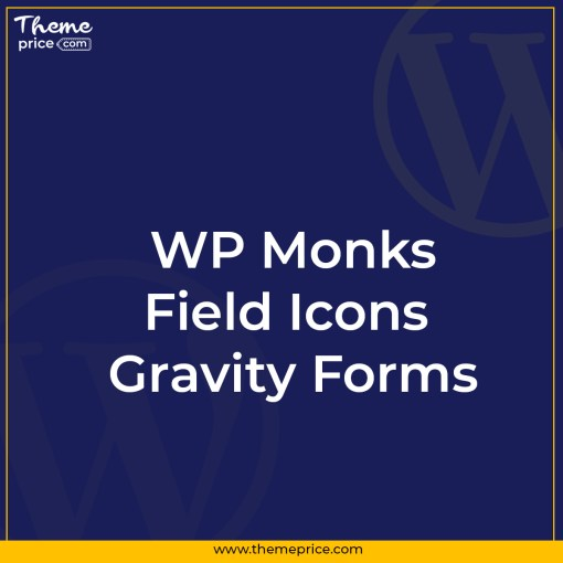 Field Icons Gravity Forms