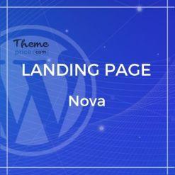 Nova – Premium App Landing Page Template