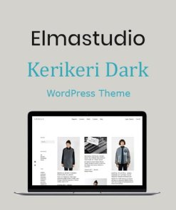 ElmaStudio Kerikeri Dark WordPress Theme