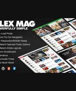 Flex Mag Responsive WordPress News Theme