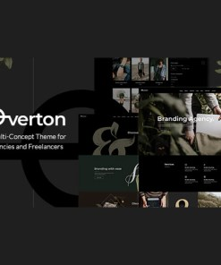 Overton Creative Theme for Agencies and Freelancers