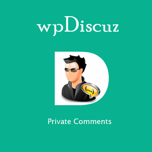wpDiscuz Private Comments