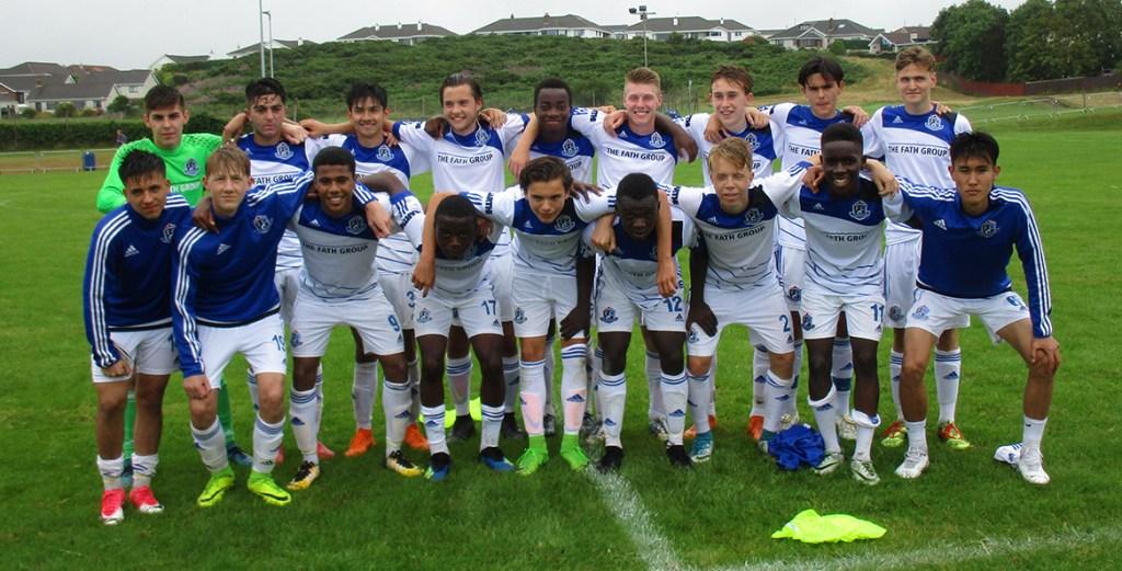 FC Edmonton Academy group shot.
