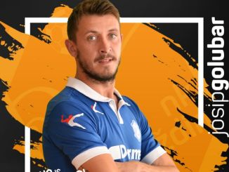 Josip Golubar player profile photo from HK Varazdin.