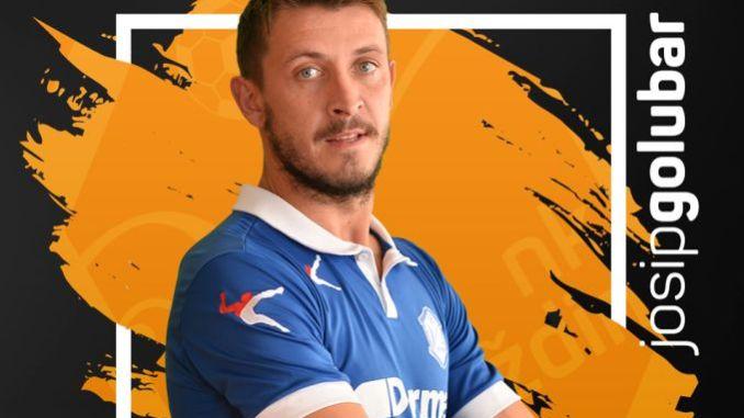 Josip Golubar player profile photo from HK Varazdin.