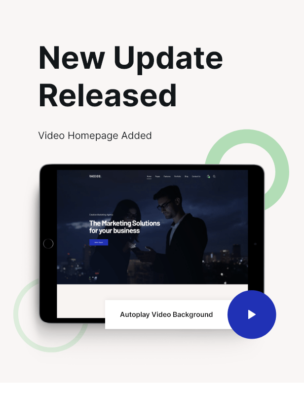 Video Homepage Release