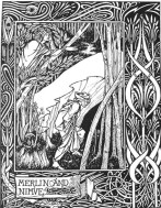 Merlino e Viviana - Aubrey Beardsley 1893