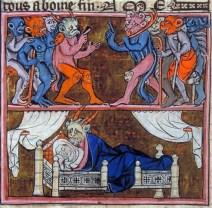 concepimento di merlino XIV secolo a