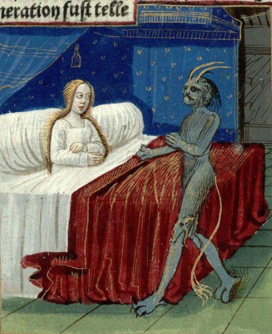 concepimento di merlino XV secolo
