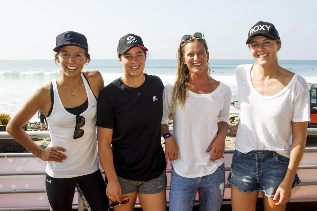 sally fitzgibbons, tyler wright, courtney conlogue & stephanie gilmore