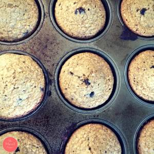 I went on a Pinterest search and found the PERFECT Food Storage Banana Nut Muffin Recipe for breakfast that would help me rotate my food storage