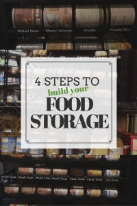 Looking for quick information with starting to build your food storage? Watch these short videos with basic EASY steps to start building your food storage