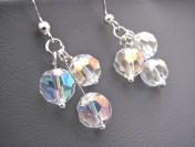 crystal earrings by artisanjouel on felt.co.nz