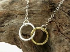 Necklace by makemyday on felt.co.nz