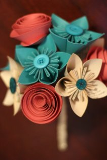 Paper flowers, by QtsyThings on etsy.com