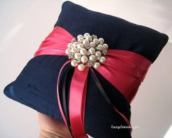Ringbearer pillow, by LaceyClaireDesigns on etsy.com