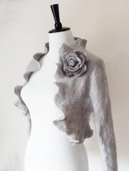 Bridal shrug, by softadditions on etsy.com