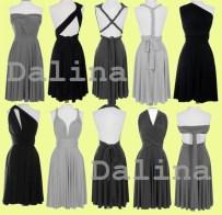 Convertable bridesmaid dress, by Dalina on etsy.com