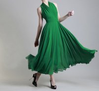 Halter dress available in multiple colours, US$82 by Susiewear on etsy.com