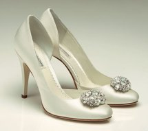Lamour shoes, from fairytalebridal.co.nz