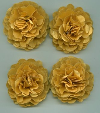 Paper flowers, by crazy2becrazy on etsy.com