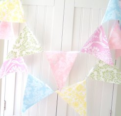 Bunting, by vintagegreenlimited on etsy.com