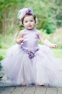 Flower girl tutu dress, by BellaBeanCouture on etsy.com - Too cute!