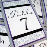 Table numbers, by invitesbyjen on etsy.com