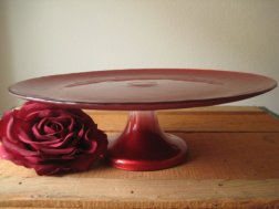 Cake stand, by MyVintageFind on etsy.com