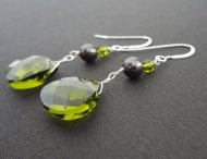 Earrings, by jujudesigns on etsy.com