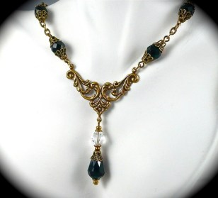 Necklace, by AzureTreasures on etsy.com