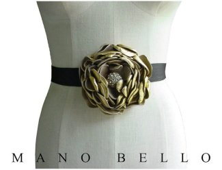 Wedding sash, by ManoBello on etsy.com