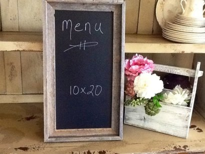 Menu chalkboard, by ladedadesign on etsy.com