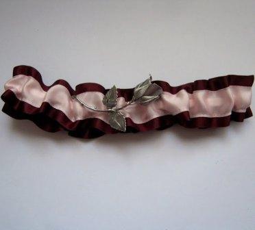 Vintage garter, by BridalBooties on etsy.com