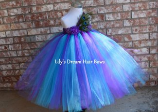 Flower girl tutu dress, by LilysDreamHairBows on etsy.com