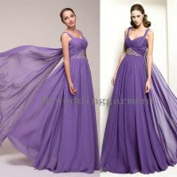 Purple wedding dress, by Myweddinggarment on etsy.com