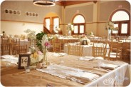 Reception table setting idea