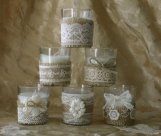 Votives, by Bannerbanquet on etsy.com