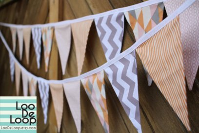 Bunting, by LooDeLoop on etsy.com
