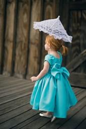 Flower girl dress, by beaneandco on etsy.com