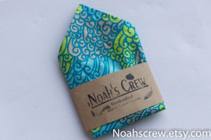 Pocket square, by NoahsCrew on etsy.com