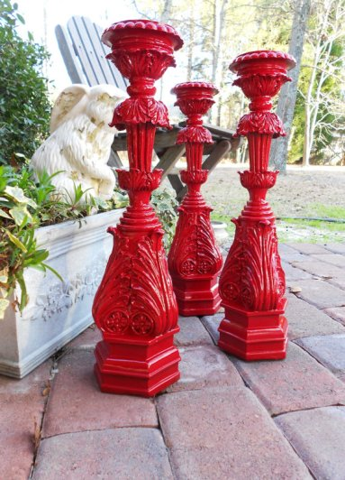 Candlesticks, by PetiteSophisticateDz on etsy.com