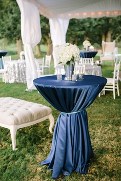 Midnight blue wedding